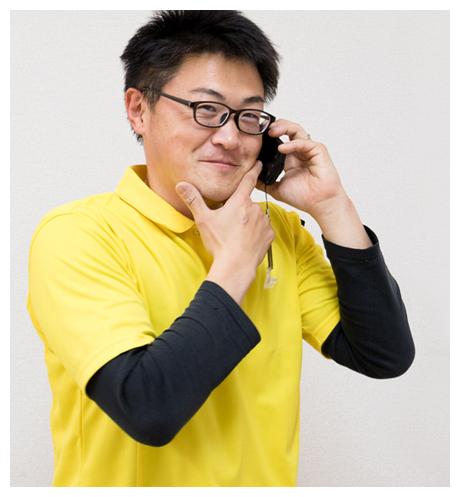 先輩営業マンの写真